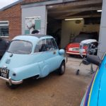 Isetta bubble car respray in progress Restoration - image 48