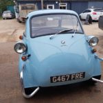 Isetta bubble car respray in progress Restoration - image 47