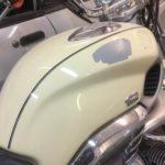 Motorcycle fuel tank repair. 1997 BMW R1200C Restoration - image 1
