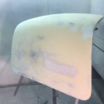 Lancia Appia boot lid restoration in progress Restoration - image 4