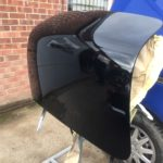 Lancia Appia boot lid restoration in progress Restoration - image 7