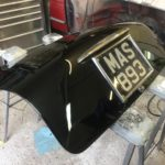 Lancia Appia boot lid restoration in progress Restoration - image 6
