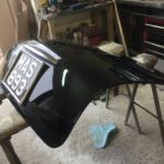 Lancia Appia boot lid restoration in progress Restoration - image 8