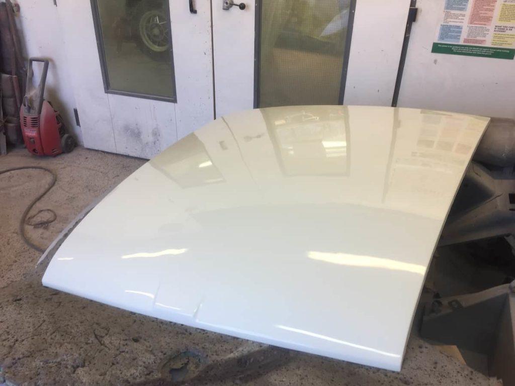 MG Bonnet Restoration - image 6