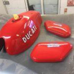 Ducati Fuel Tank and Side Panels Restoration - image 4
