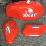 Ducati Fuel Tank and Side Panels Restoration - image 3