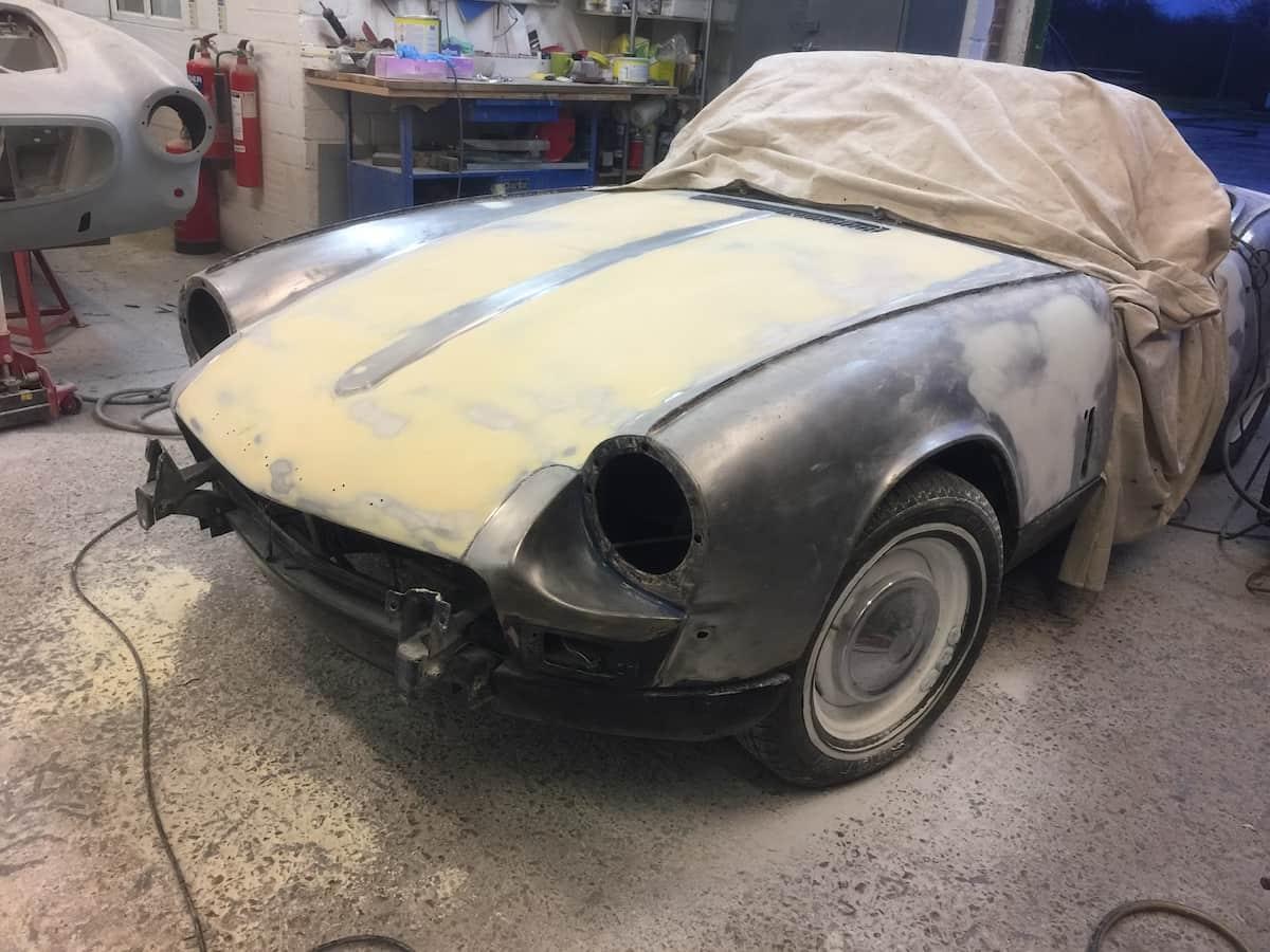 Triumph Spitfire MK3 Restoration & Repair | White's Bodyworks