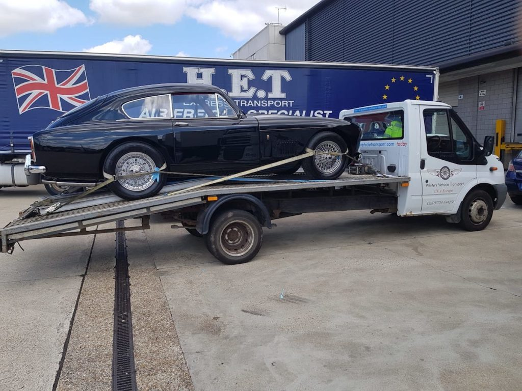 Aston Martin Car Transport Restoration