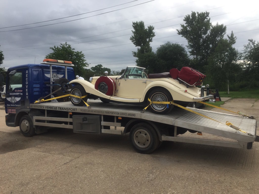 Mercedes Benz 540k Special Cabriolet Car Transport Restoration