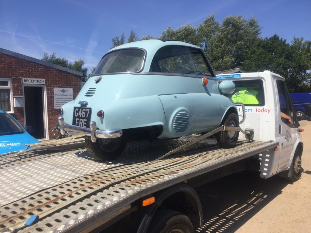 Issetta Bubble Car Transport Restoration