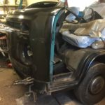 Green VW Campervan Restoration - image 24
