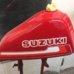 1980 TS 250 ER Suzuki Restoration - image 5